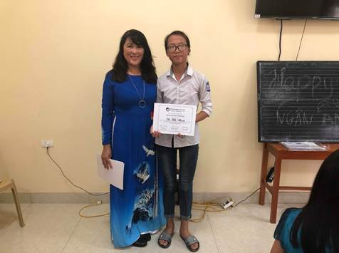 My student Hạnh